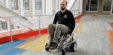 חדש בשוק: כיסא גלגלים ממונע ומהפכני שנוסע על אוויר