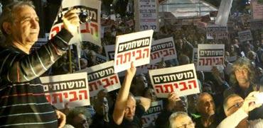 ההפגנות בשבת: מחאות של ימנים או שמאלנים בתחפושת?