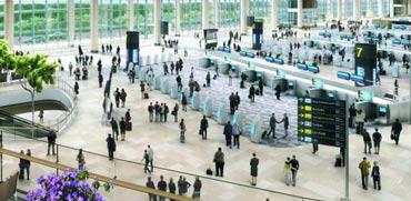 """ללא מגע יד אדם: טרמינל חדש בשדה""""ת המתקדם בעולם"""