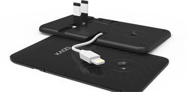 המצאה ישראלית חדשה: מטען סמארטפון בעובי כרטיס אשראי