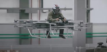 נשק חדש בצבא רוסיה: אופנועי רחיפה קרביים ללוחמים