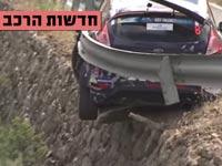 חדשות הרכב,נהג מרוצים מתנגש בגדר בטיחות/ צילום: מתוך הוידאו