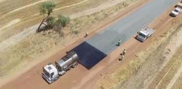 סלילת כביש אוסטרליה/ צילום: מהוידאו