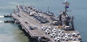 נושאת המטוסים ג'ורג וושינגטון/ צילום: מהוידאו