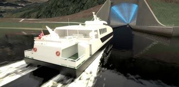 פרויקט גרנדיוזי חדש: מנהרת הספינות הראשונה בעולם