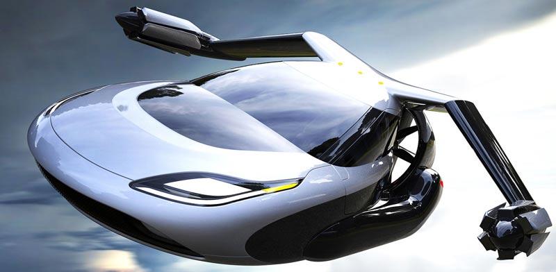 מכונית מעופפת X-TF, צילום: Terrafugia