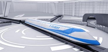 פרויקט דגל חדש בסין: רכבת האויר המהירה בעולם