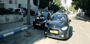 פטנט ישראלי חדש: ניווט יעיל לחניה פנויה ביעד הנסיעה