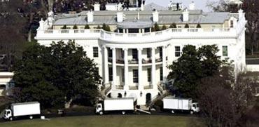 חילופי נשיא בבית הלבן/ צילום: מהוידאו