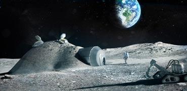 במקום תחנת חלל בינלאומית: כך נראית התוכנית ליישוב הירח