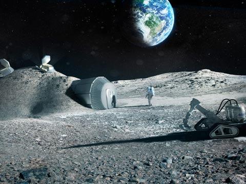 בית על הירח / צילום: יו-טיוב