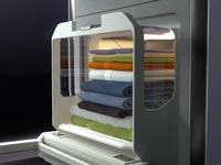 """מכונה מקפלת בגדים / צילום: יח""""צ"""