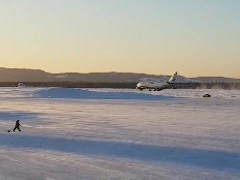 מטוס אל על / צילום: מתוך הוידאו