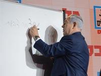 נתניהו מועידת ישראל/ צילום: איל יצהר