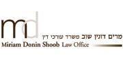 מרים דונין שוב, משרד עורכי דין | לוגו עברית