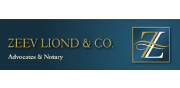 Zeev Liond & Co. Advocates & Notary | English Logo 88x180