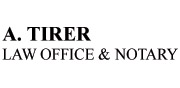 A. Tirer Law Office and Notary | Logo English