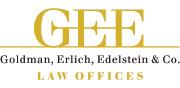 גולדמן, ארליך, אדלשטיין ושות' משרד עורכי דין | לוגו עברית