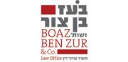 בעז בן צור ושות', עורכי דין | לוגו עברית