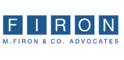 M. Firon & Co. Advocates & Notaries | English Logo_180x88