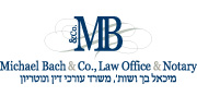 Michael Bach & Co. Law Office & Notary | English Logo 180X88
