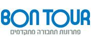 חברת בון תור (Bon Tour) | לוגו עברית 88X180
