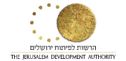 JDA The Jerusalem Development Authority | English Logo 180x88