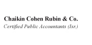 Chaikin Cohen Rubin & Co. – CPA | English Logo 180X88