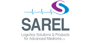 SAREL - Logistics Solutions & Products for Advanced Medicine Ltd. | English Logo 180X88