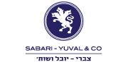 צברי-יובל ושות' | לוגו עברית 180X88