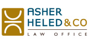 Asher Heled & Co. Law Offices  | English Logo 180X88