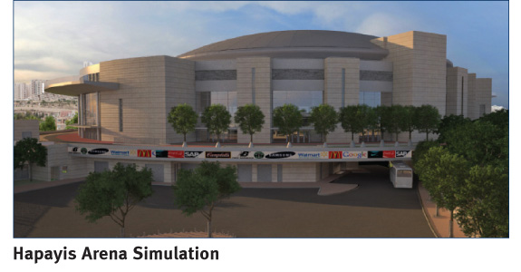 Hapayis Arena Simulation | Moriah Jerusalem Development Company Ltd. | PR Photo