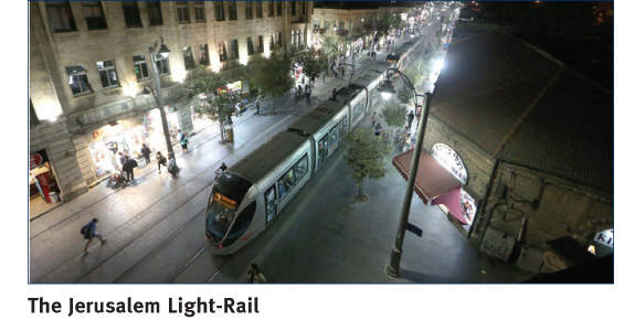 The Jerusalem Light-Rail | Moriah Jerusalem Development Company Ltd. | PR Photo