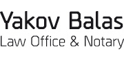 Yakov Balas Law Office & Notary | logo