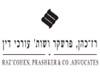 רז-כהן, פרשקר ושות' | לוגו