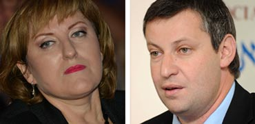 סטס מיסז'ניקוב ופאינה קירשנבאום / צילומים: תמר מצפי