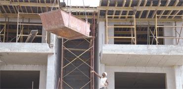 אתר בנייה /  צילום: תמר מצפי