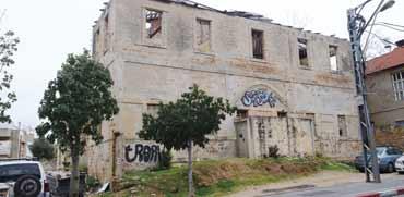 הבניין ברחוב יפת 55 ביפו צילום: איל יצהר