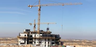 """בנייה בעיר באר שבע.  הסכם גג ל–20 אלף יח""""ד  / צילום: אייל פישר"""
