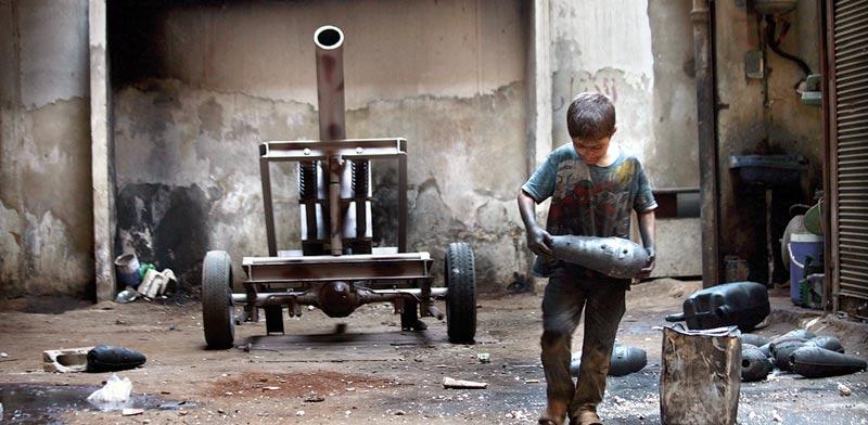 Syrian civil war Photo: Reuters