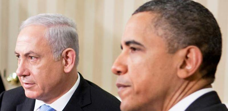 Netanyahu, Obama photo: Bloomberg