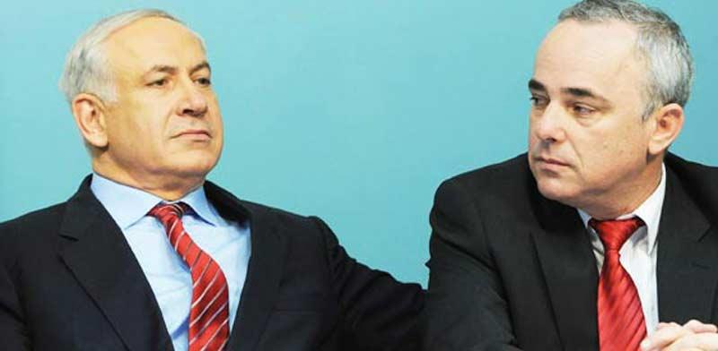 Benjamin Netanyahu and Yuval Steinitz