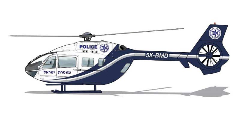 Israel Police helicopter