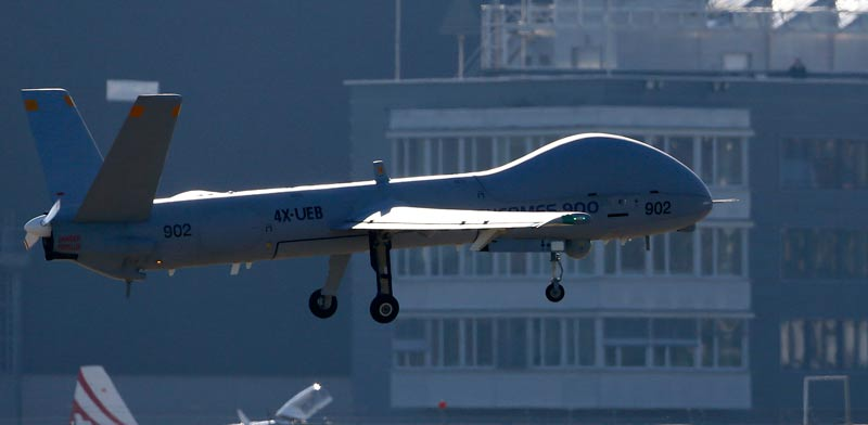 Hermes UAV  photo: Reuters