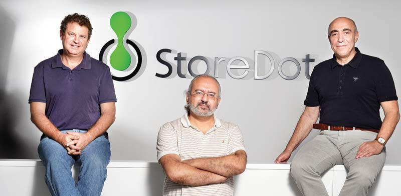 Storedot  photo: Eyal Yitzhar