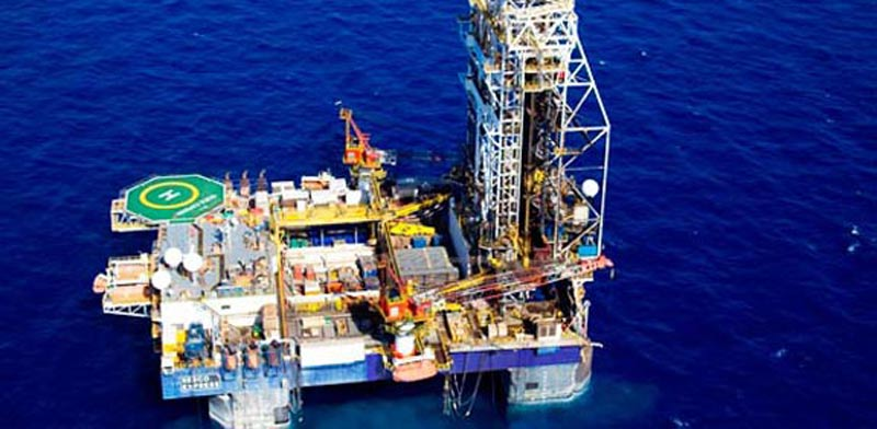 Leviathan drill platform (Photo: Albatross Aerial)