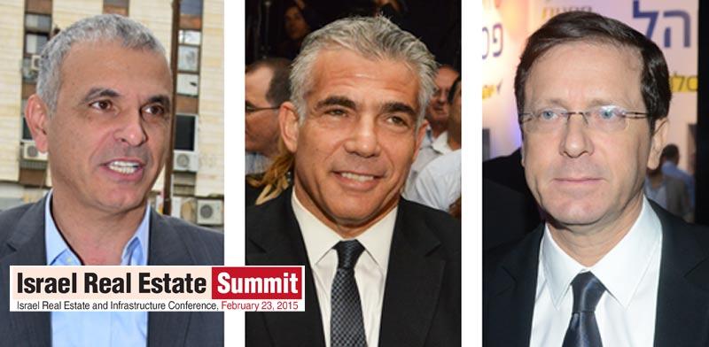 Herzog, Lapid, Kahlon Eyal Yitzhar Tamar Matzapi