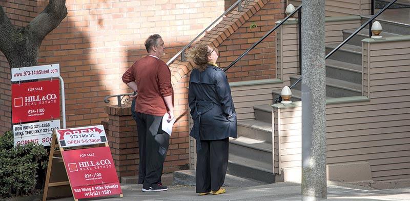 בית למכירה בסן פרנסיסקו / צילום: בלומברג