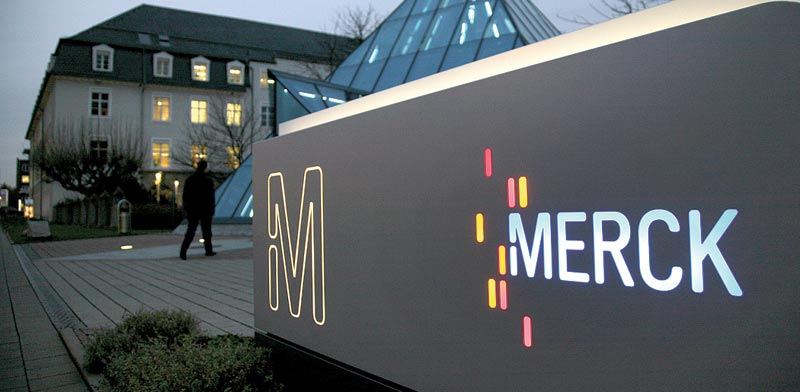 Merck HQ Germany  photo: Bloomberg