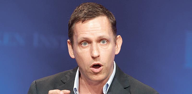 Peter Thiel Photo: Reuters